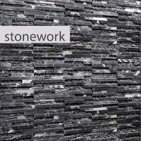 obj stone slate black