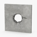 broken concrete 3D models