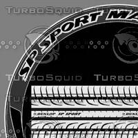 Dunlop SP Sport tire texture