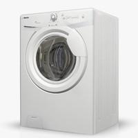 washingmachine iberna ib4-106d2-07 3d max