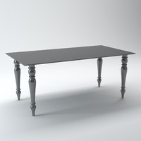 3d model acrylic table