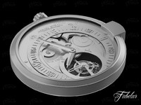 watch mechanism 21 3d model
