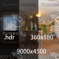 HDRI interior 360x180