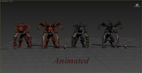 3d imp pack animations