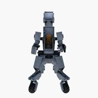 robot 3d obj