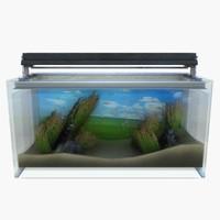3d model fish tank