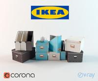 3d ikea box model