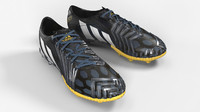 predator boot football 3d max