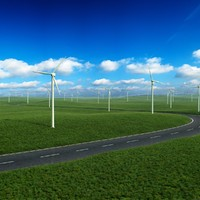 grassland fan 3d max