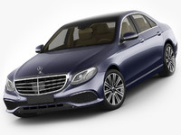 Mercedes E-class exclusive sedan hybrid 2017