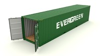 Shipping Container Evergreen