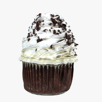 3d model oreo cupcake