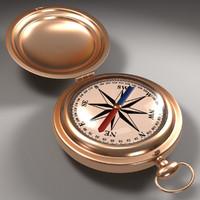 3d compass explosion