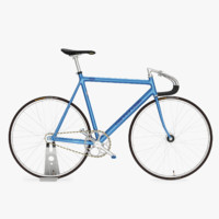 3d cannondale track fixed gear model