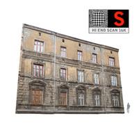 3d obj building facade
