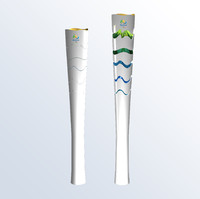 3d olympic torch 2016 games