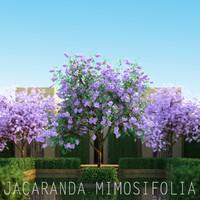 3d flower tree model