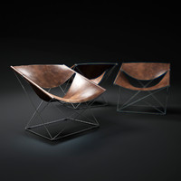 3d pierre-paulin-butterfly-chair-f675
