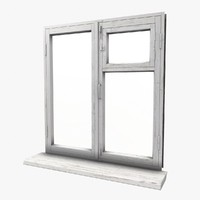 old window 3d model