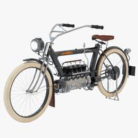 1910 american pierce 3d model