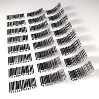 3d model barcode code