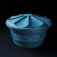 3ds moskita water tank