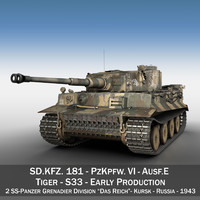 Panzer VI - Tiger - S33 - Early Production