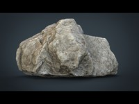 realistic stone 3d model