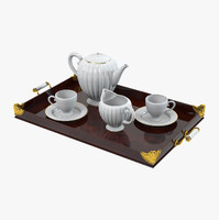 tea set tray max