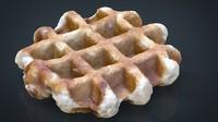 waffle 8k 3d model
