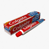 3d model toothpaste