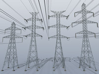transmission towers 3d 3ds