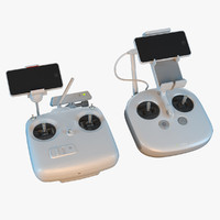 dji phantom remote controls 3d max