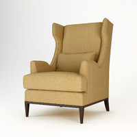 baker westminster wing chair upholstery max