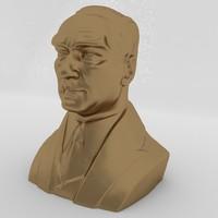 ataturk bust- sculpture- max