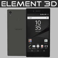 3d realistic element sony xperia