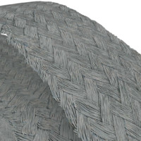 Flat Woven Steel Cable Texture