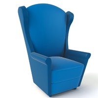 Cartoon Armchair Model 02