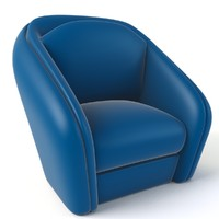 Cartoon Armchair Model 05