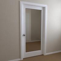 3d interior door - single