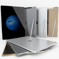 3d model apple ipad pro wi-fi