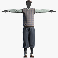 3d mens clothes