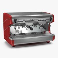 3d espresso machine simonelli