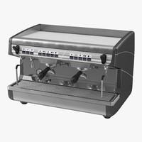 espresso machine generic obj