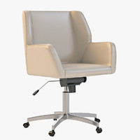 3d model napoli task chair