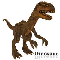 3d dinosaur ready model