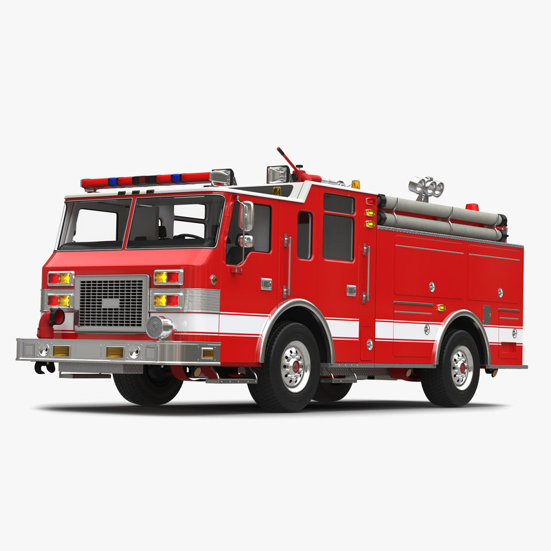 Fire Truck Apparatus 3d model of 01.jpg