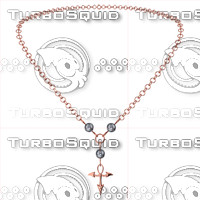 necklace 3d 3ds