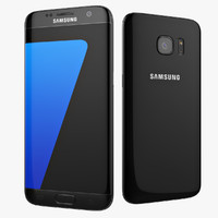 Samsung Galaxy S7 Edge Black 2016 Smartphone
