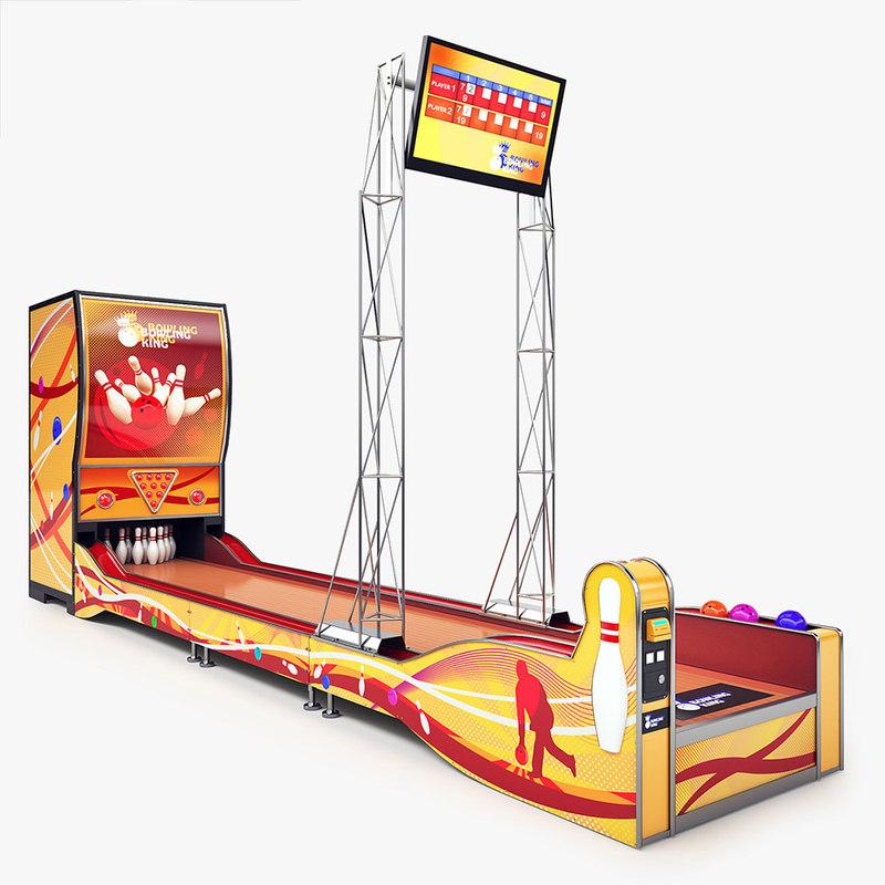 bowling arcade machine